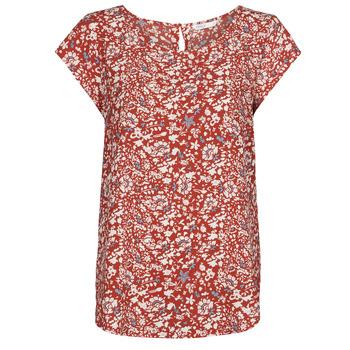 Textiel Dames Tops / Blousjes Only ONLNOVA Rood