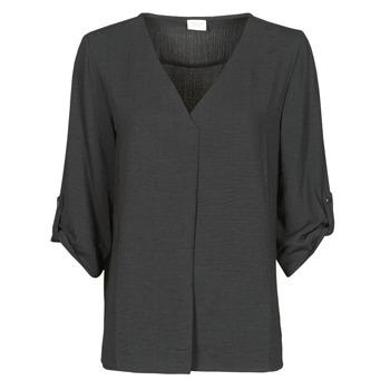 Textiel Dames Tops / Blousjes JDY JDYDIVYA 3/4 TOP WVN NOOS Zwart