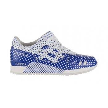 Schoenen Lage sneakers Asics Gel Lyte 3 x Colette Dark Blue/White