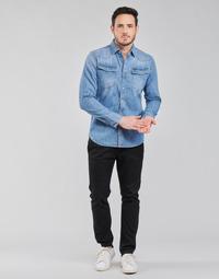 Textiel Heren Chino's G-Star Raw VETAR SLIM CHIN Zwart
