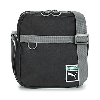 Tassen Heren Tasjes / Handtasjes Puma ORIGINAL PORTABL RETRO.BLK Zwart / Grijs