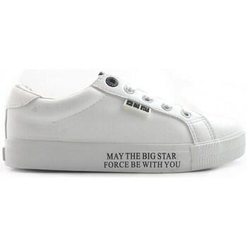 Schoenen Dames Lage sneakers Big Star EE274316 Blanc