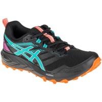 Schoenen Dames Running / trail Asics Gelsonoma 6 Bleu, Graphite