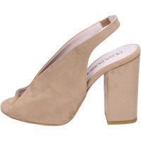 Schoenen Dames Sandalen / Open schoenen Olga Rubini Sandales BJ430 Beige