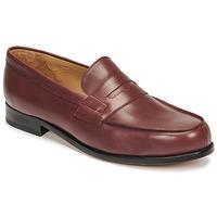 Schoenen Heren Mocassins Pellet Colbert Rood