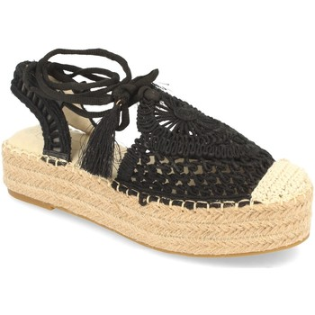 Schoenen Dames Espadrilles H&d YZ19-58 Negro