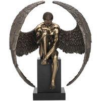 Wonen Beeldjes Signes Grimalt Angel Naked Pedestal Dorado