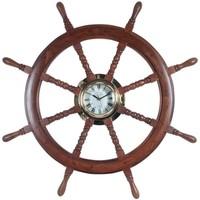 Wonen Klokken Signes Grimalt Wheel Klok Marrón