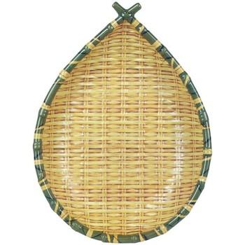 Wonen Schaaltjes en manden Signes Grimalt Bamboe Dienblad Fruitschaal Amarillo