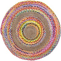 Wonen Kleden Signes Grimalt Round Carpet Multicolor