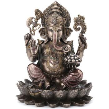 Wonen Beeldjes Signes Grimalt Resin Bronzen Ganesha Dorado