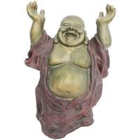 Wonen Beeldjes Signes Grimalt Happy Buddha Multicolor