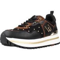 Schoenen Dames Lage sneakers Liu Jo MAXI WONDER 01 Zwart