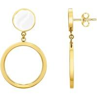 Horloges & Sieraden Dames Oorbellen Phebus Boucles d'oreilles  pour Elle Jaune