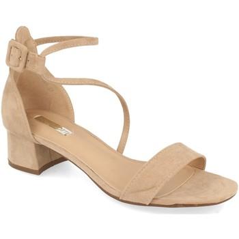 Schoenen Dames Sandalen / Open schoenen Buonarotti 1LL-0161 Beige