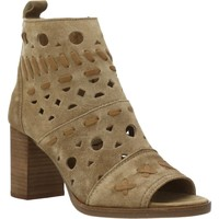 Schoenen Dames Sandalen / Open schoenen Alpe 4177 11 Bruin