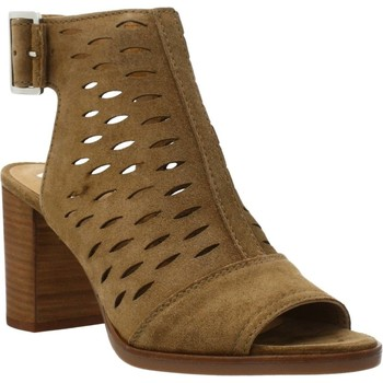 Schoenen Dames Sandalen / Open schoenen Alpe 4190 11 Bruin