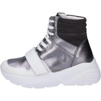 Schoenen Dames Hoge sneakers Twin Set BJ482 Gris
