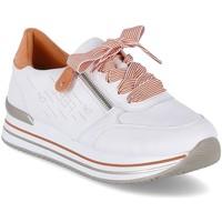 Schoenen Dames Lage sneakers Remonte Dorndorf D131380 Blanc