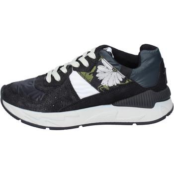 Schoenen Dames Lage sneakers Atlantic Stars Sneakers Camoscio Tessuto Nero