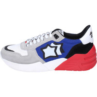 Schoenen Dames Lage sneakers Atlantic Stars Sneakers Tessuto Camoscio Blu
