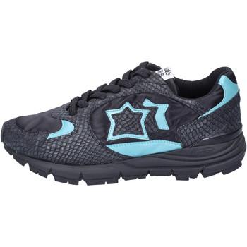 Schoenen Dames Lage sneakers Atlantic Stars Sneakers Tessuto Pelle Nero