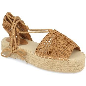 Schoenen Dames Espadrilles Milaya 3S3 Camel