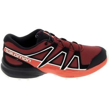Schoenen Kinderen Lage sneakers Salomon Speedcross K Rouge Noir Rood
