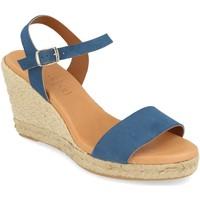 Schoenen Dames Sandalen / Open schoenen Visanze 20049 Jeans