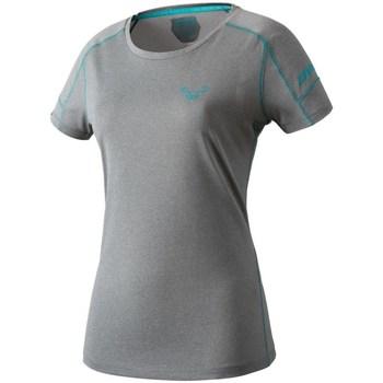 Textiel Dames T-shirts korte mouwen Dynafit Transalper W SS Tee Gris