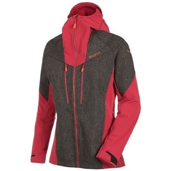 Textiel Dames Jacks / Blazers Salewa Sesvenna Wodst Jkt Rouge, Gris