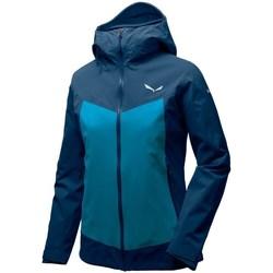 Textiel Dames Jacks / Blazers Salewa Ortles Ptx 3L Bleu