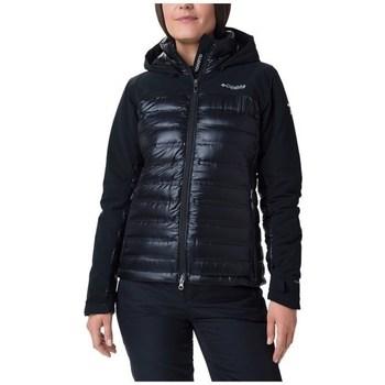 Textiel Dames Jacks / Blazers Columbia Heatzone 1000 Turbodown II Noir