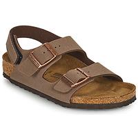 Schoenen Jongens Sandalen / Open schoenen Birkenstock MILANO HL Brown