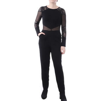 Textiel Dames Jumpsuites / Tuinbroeken French Connection  Zwart