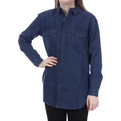 Textiel Dames Overhemden French Connection  Blauw