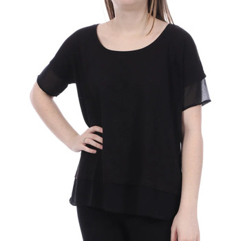 Textiel Dames Tops / Blousjes French Connection  Zwart