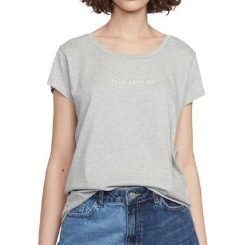 Textiel Dames T-shirts korte mouwen French Connection  Grijs