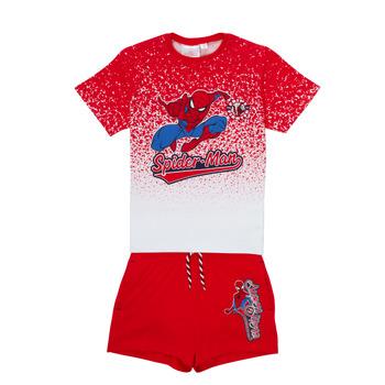 Textiel Jongens Setjes TEAM HEROES  SPIDERMAN SET Multicolour