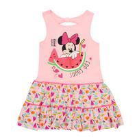 Textiel Meisjes Korte jurken TEAM HEROES  MINNIE DRESS Roze