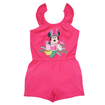 Textiel Meisjes Jumpsuites / Tuinbroeken TEAM HEROES  MINNIE JUMPSUIT Roze