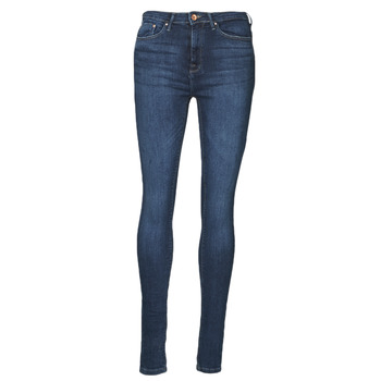 Textiel Dames Skinny jeans Only ONLPAOLA Blauw / Donker