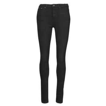Textiel Dames Skinny jeans Only ONLPAOLA Zwart