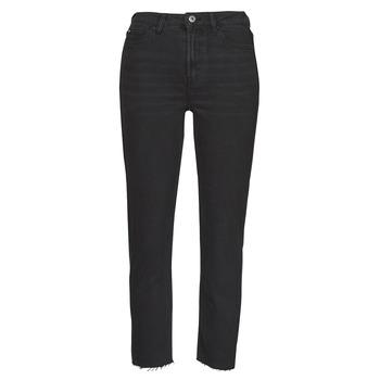 Textiel Dames ¾ jeans & 7/8 jeans Only ONLEMILY Zwart