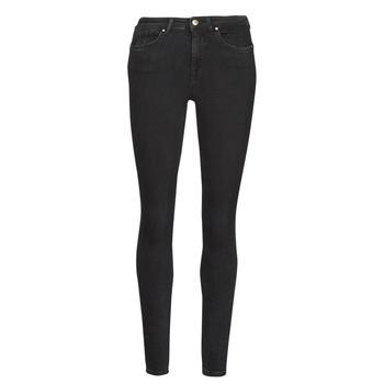 Textiel Dames Skinny jeans Only ONLPOWER Zwart