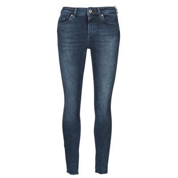 Textiel Dames Skinny jeans Only ONLBLUSH Blauw / Donker
