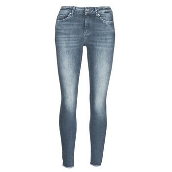 Textiel Dames Skinny jeans Only ONLBLUSH Blauw / Grijs