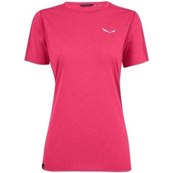 Textiel Dames T-shirts korte mouwen Salewa Pedroc 3 Dry W Rose