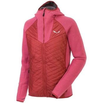 Textiel Dames Sweaters / Sweatshirts Salewa Fanes PL Rouge, Rose