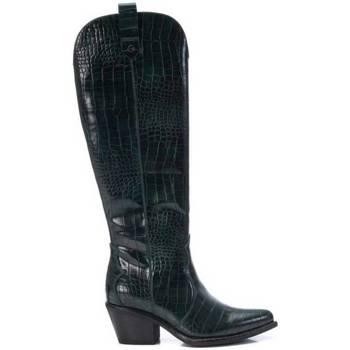 Schoenen Dames Laarzen Xti 103857 Groen